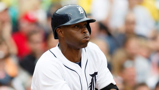 Torii Hunter goes 4-for-5 with 3 RBI for the Tigers in their win against the Nationals.