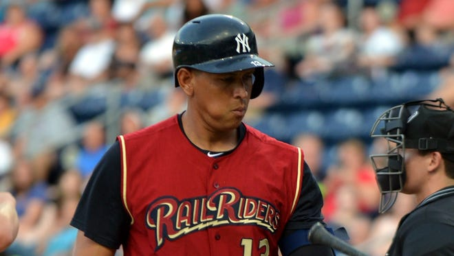 Alex Rodriguez could be sent to Double-A Trenton for a new rehab assignment on Friday.