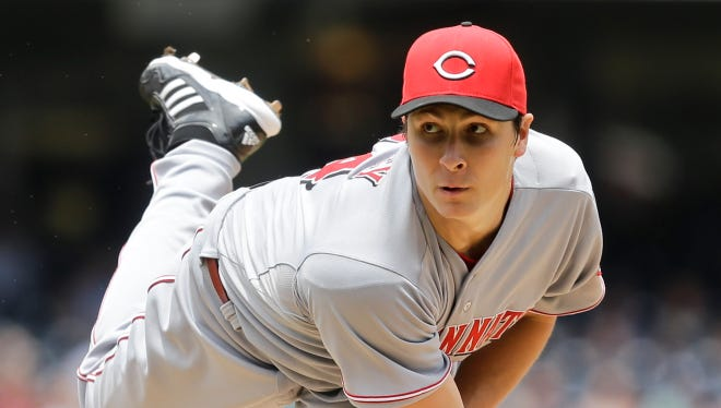 Homer Bailey allowed six hits in 8 1/3 innings to earn the win.