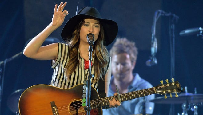 Kacey Musgraves helped warm up the crowd for Kenny Chesney.