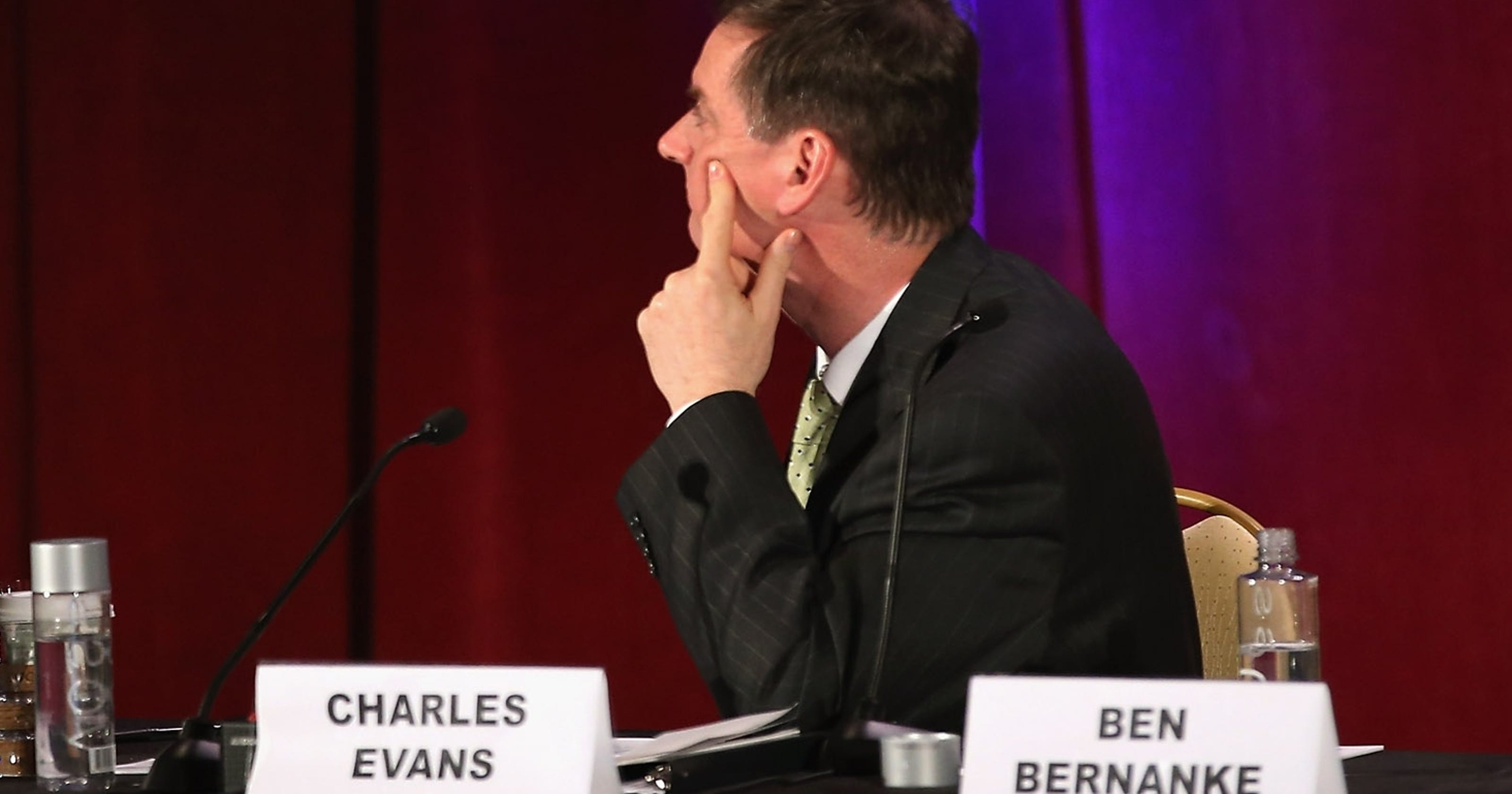 Investors eye Federal Reserve policymaker talks