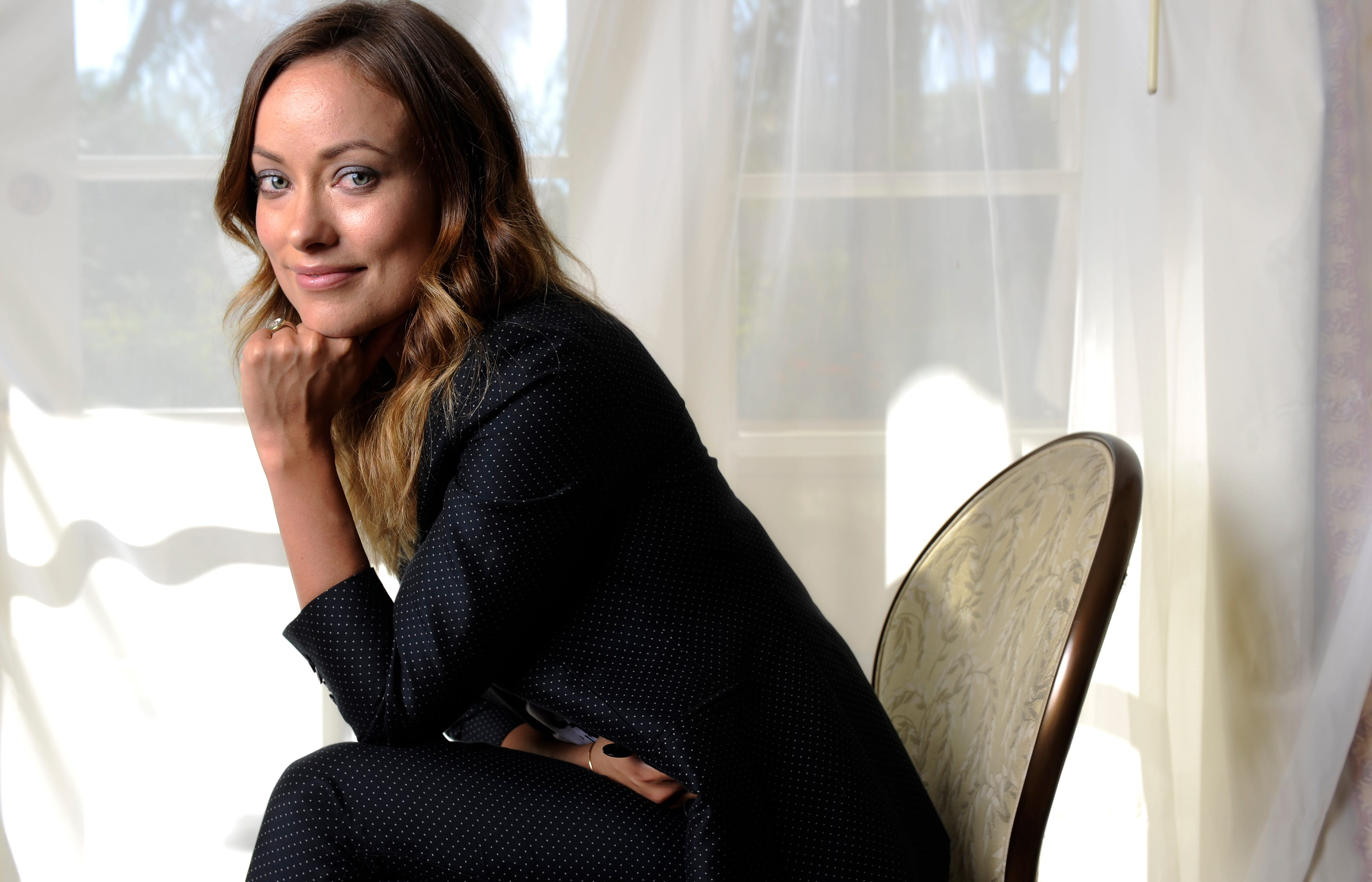 Olivia Wilde issues drinking game challenge Olivia Wilde Books