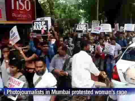 RAW VIDEO: Anger over gang rape of photographer in Mumbai