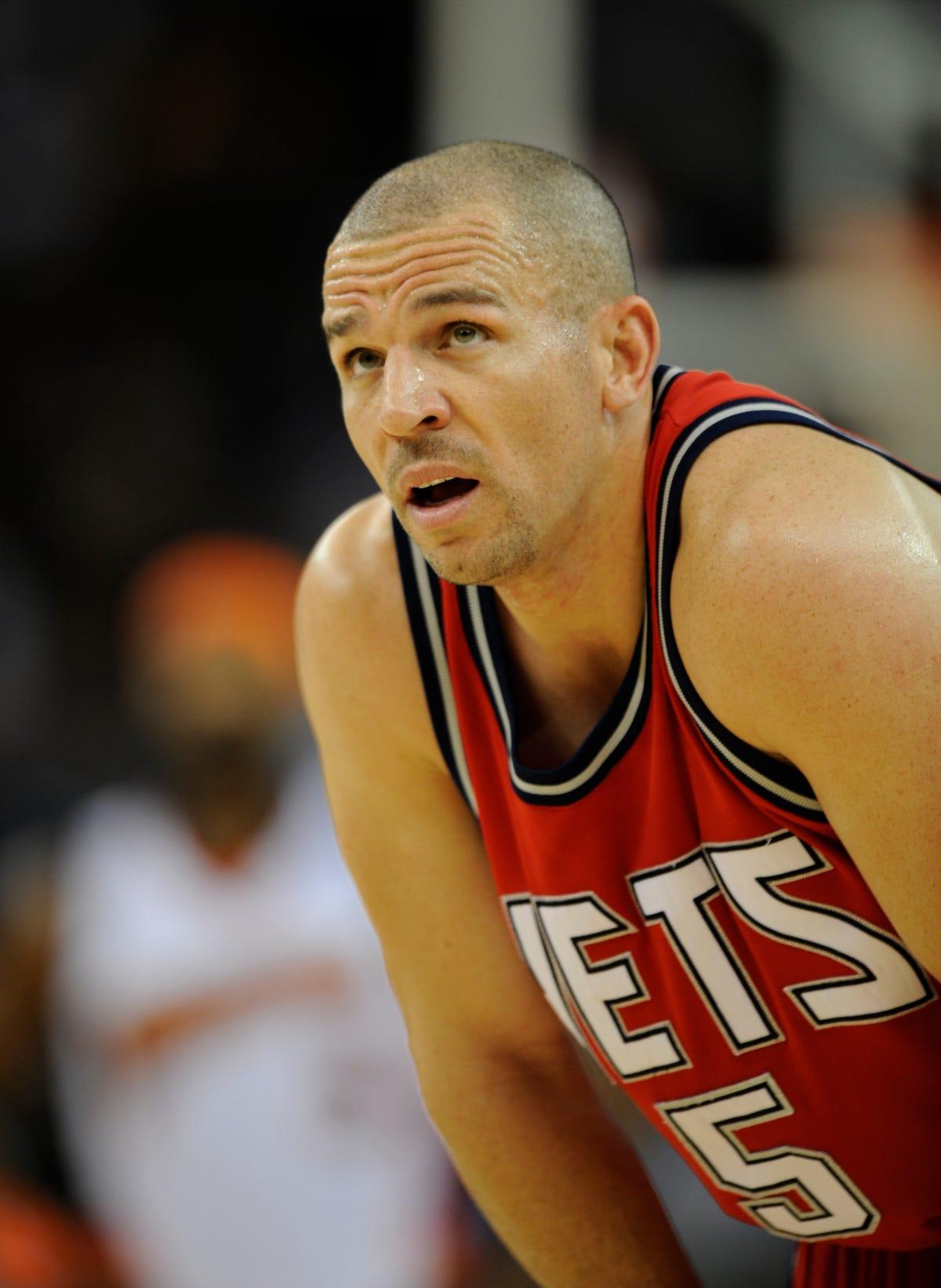 size 40 2e70d 1b81f Brooklyn Nets to retire coach Jason Kidd's No. 5 jersey