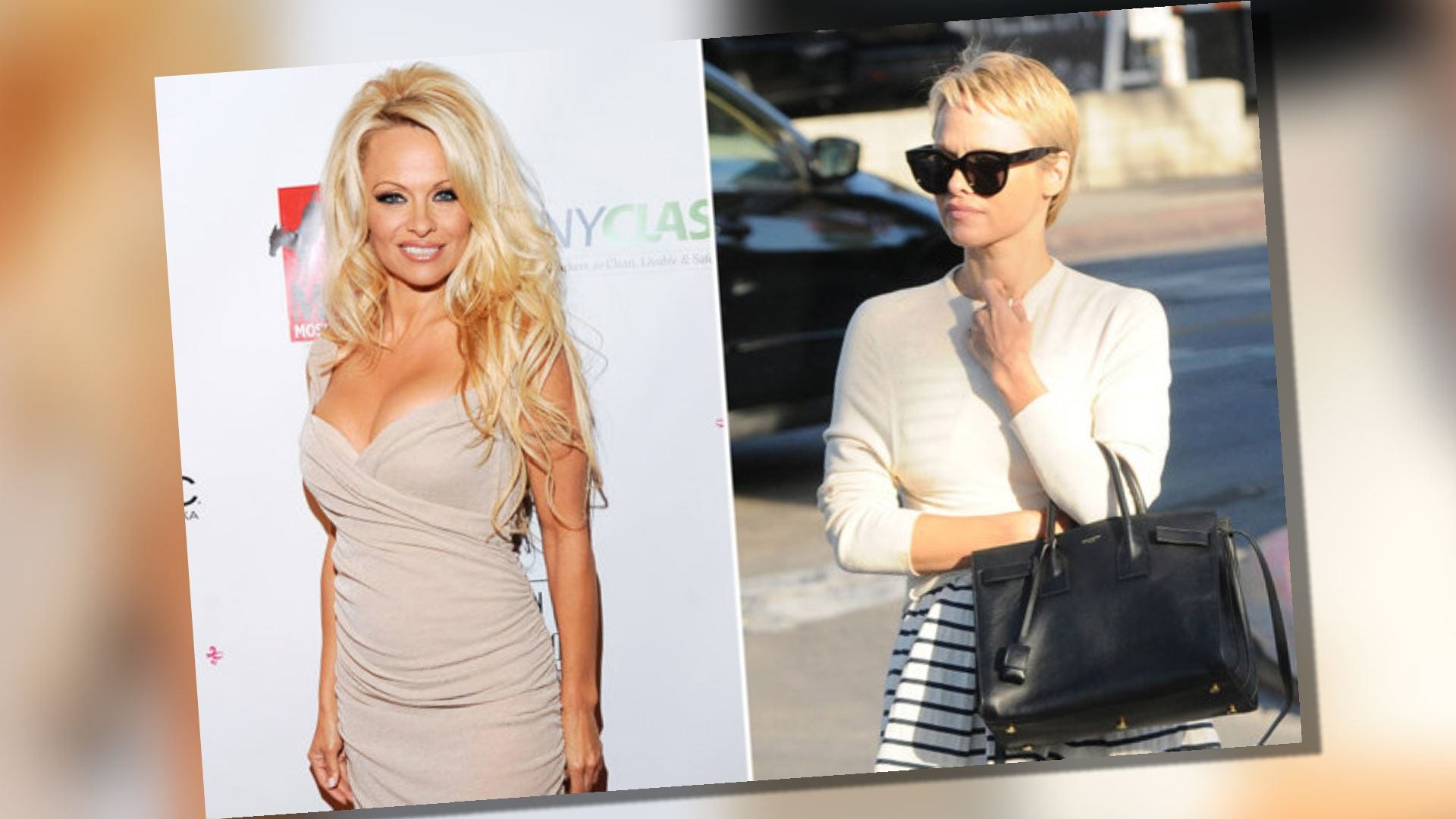 Are pixie cuts sexy? 'Baywatch' babe Pamela Anderson just got one ...