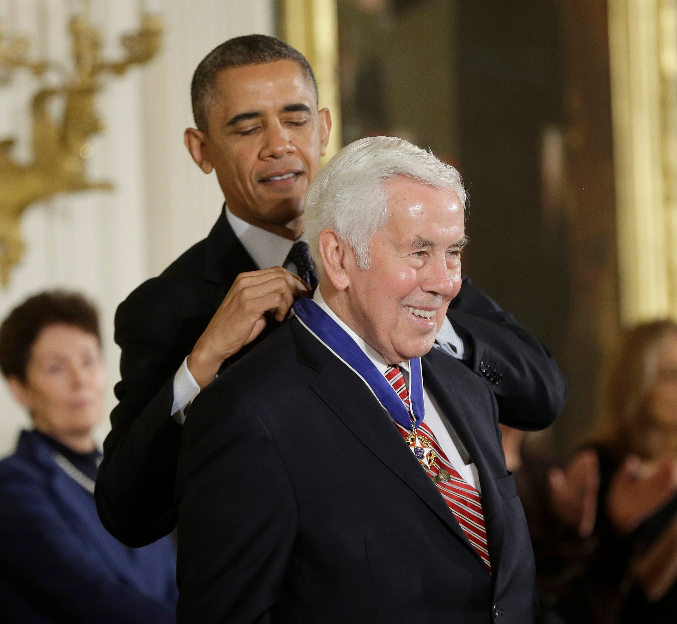 Here's why Barack Obama is praising late former Sen. Richard Lugar