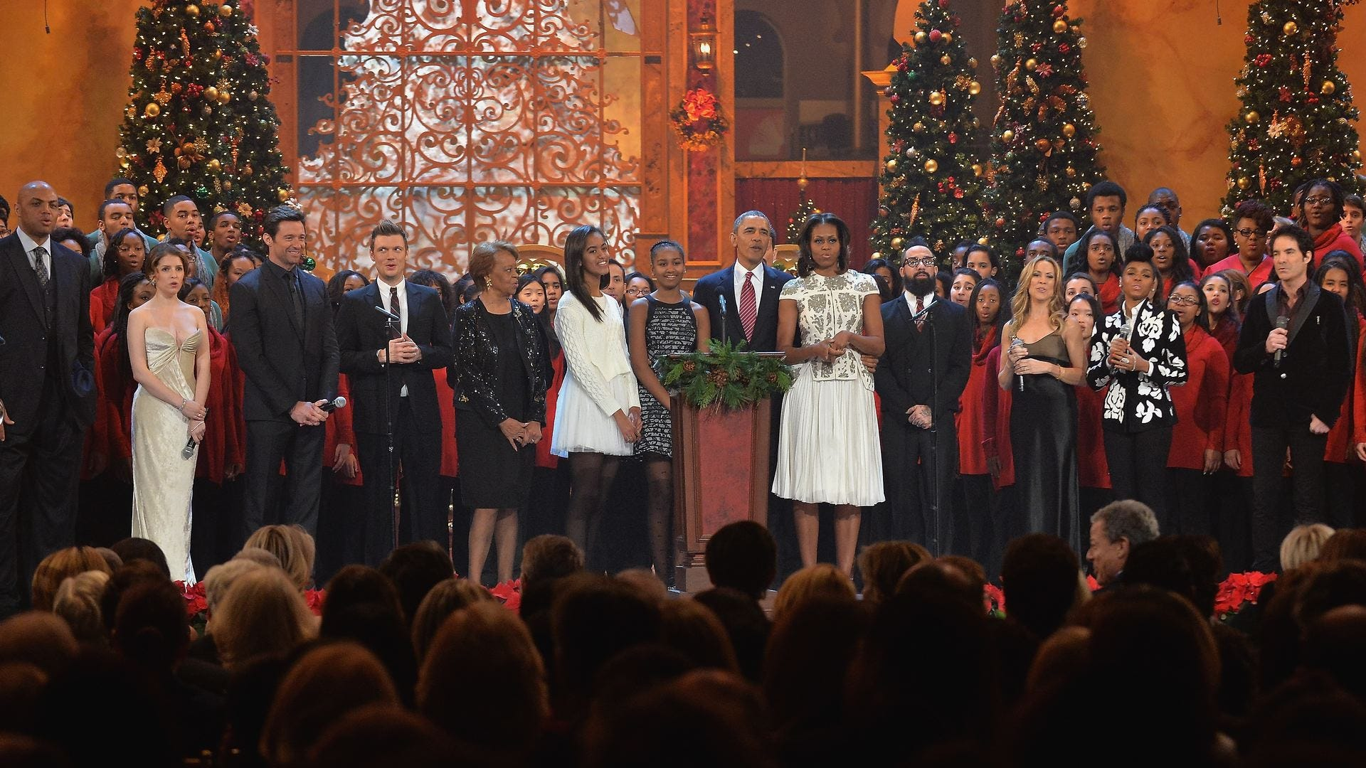 Christmas Eve In Washington.Fun Times With The Obamas Backstreet Boys At Christmas In Washington Dailydish