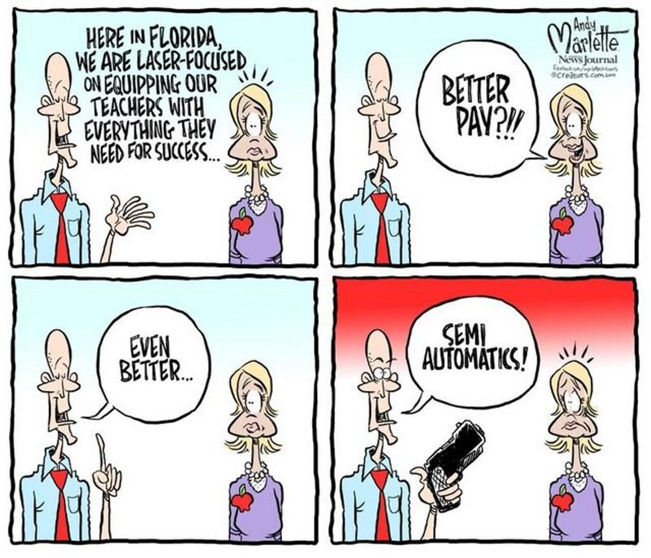 Andy Marlette, Pensacola (Fla.) News Journal