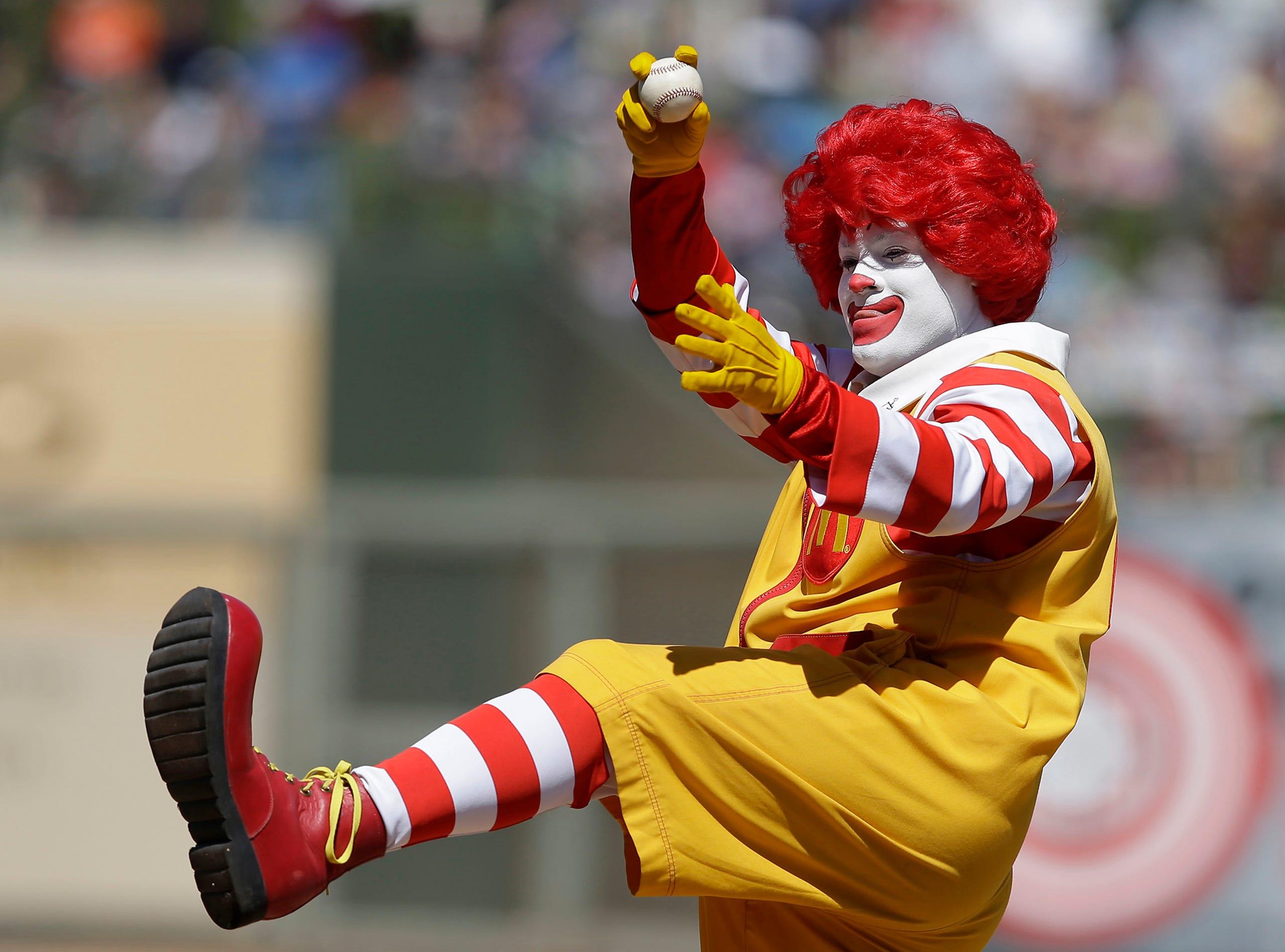 Ronald McDonald through the years