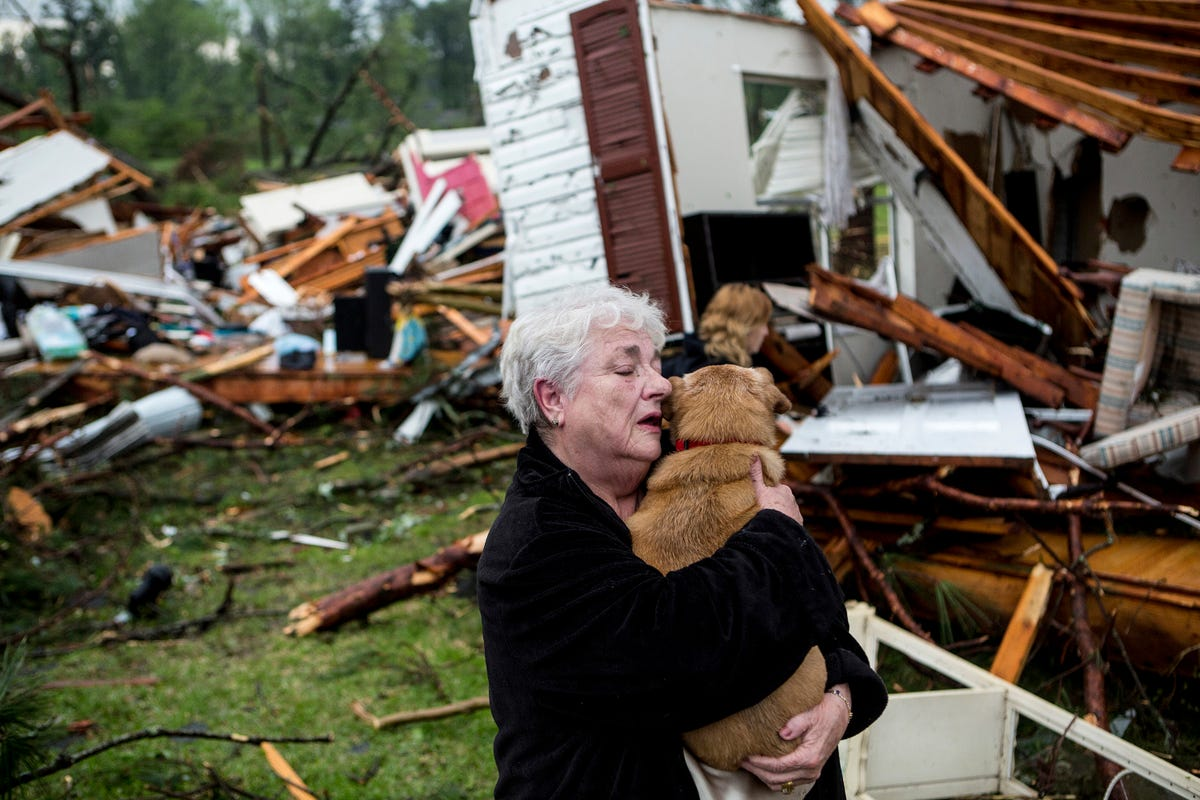 Death toll from storms hits 36