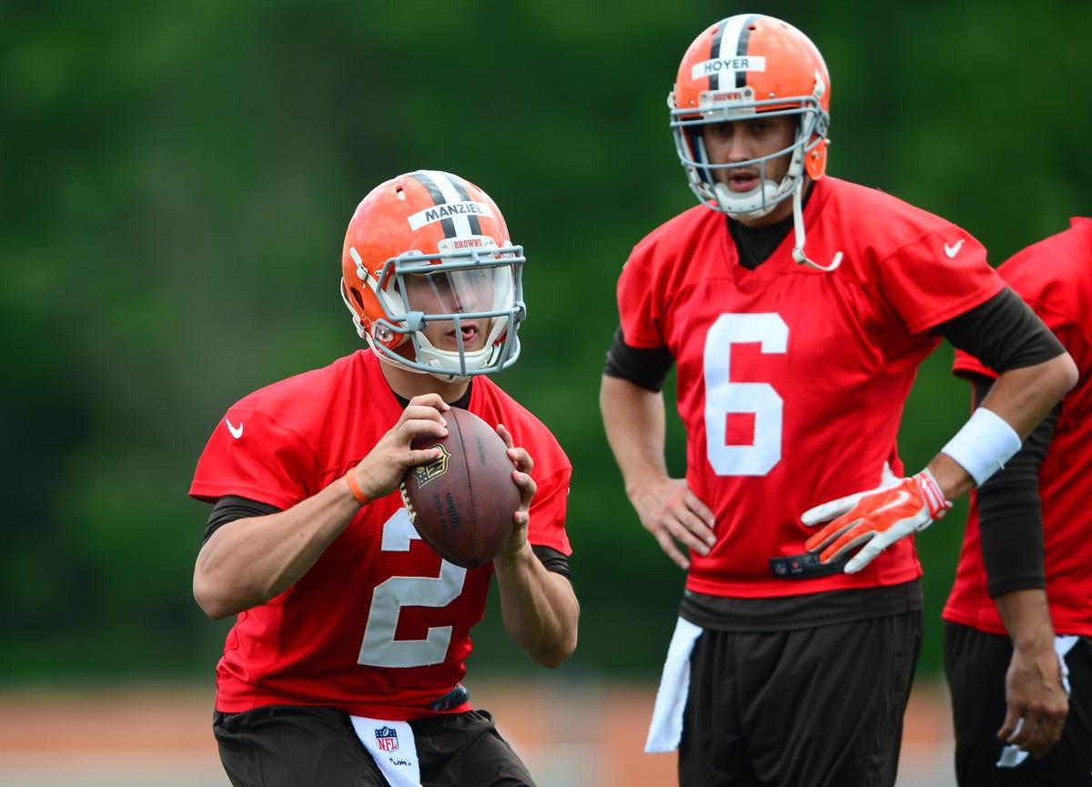 938551dc NFL training camp primer: Johnny Manziel heads list of summer story ...