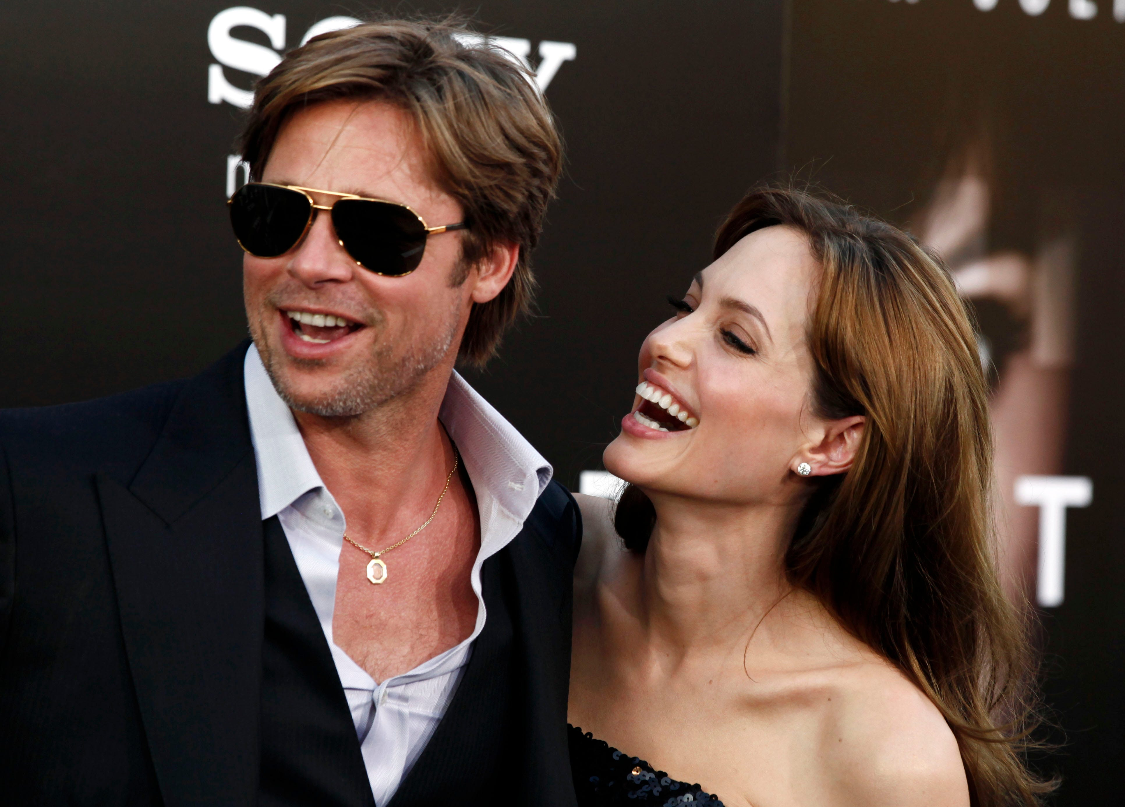 Timeline: Pitt and Jolie's 12-year relationship