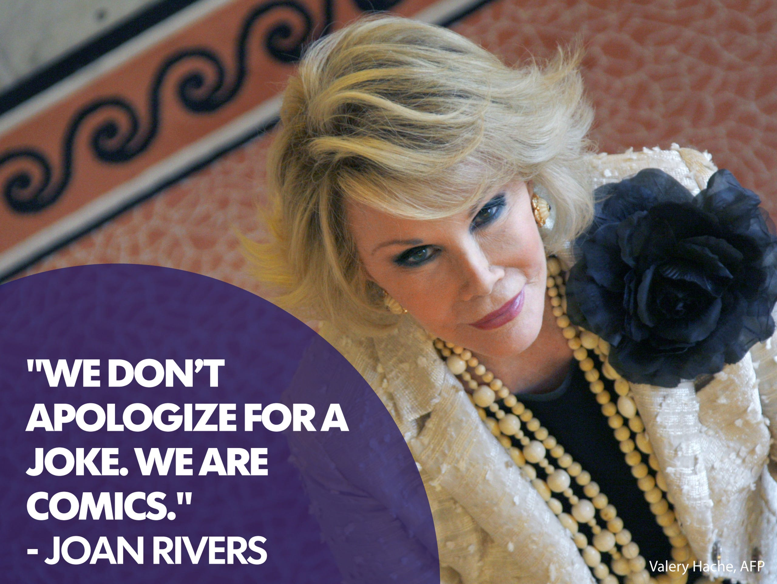 Quotes: Remembering the iconic, irreverent Joan Rivers