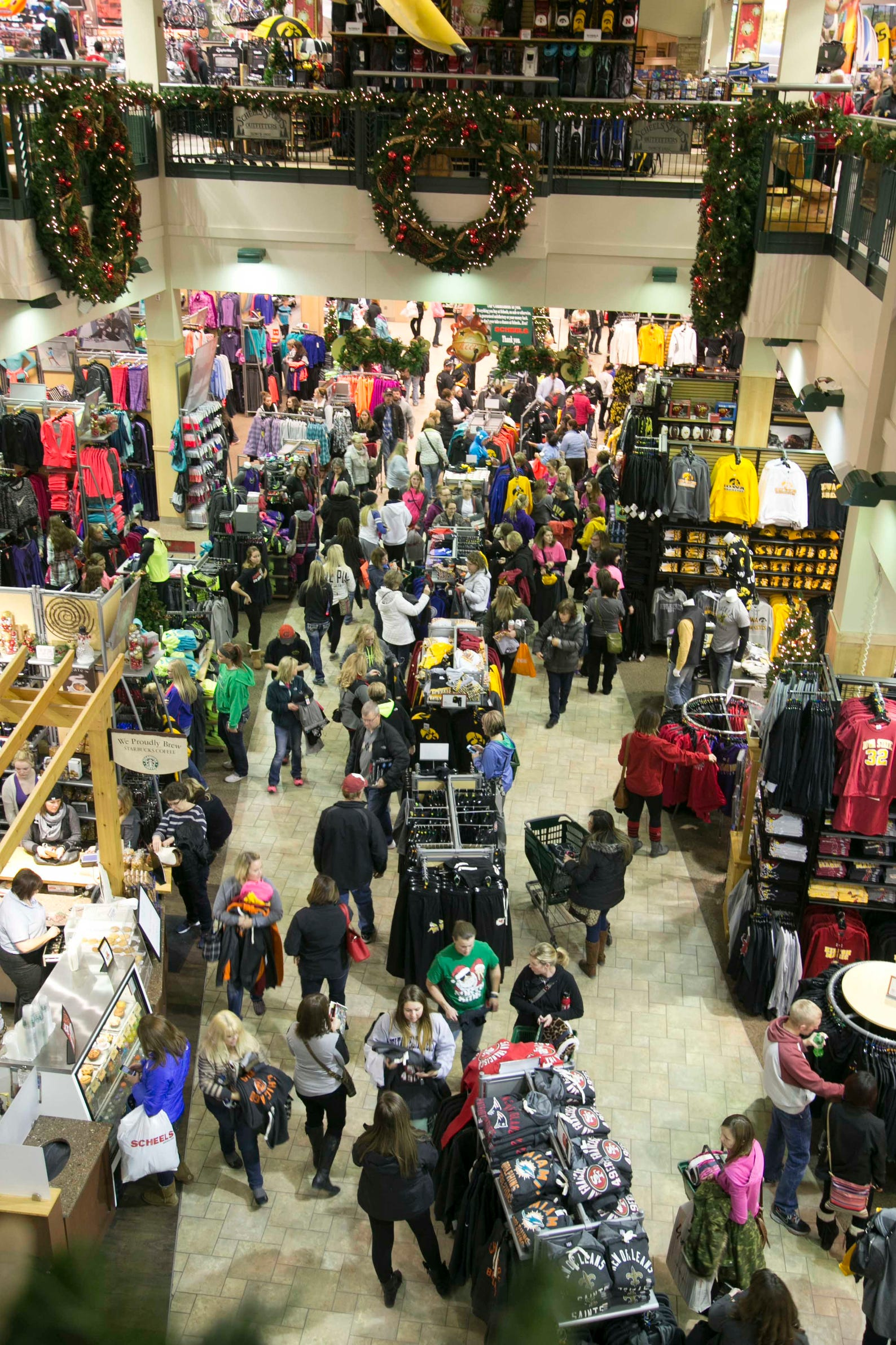 Shoppers Scramble For Deals On Black Friday