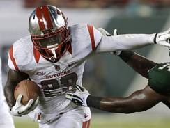 Rutgers running back Jawan Jamison ran for 151 yards and a touchdown.