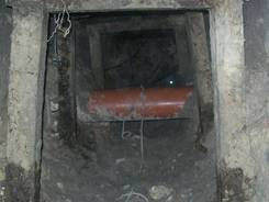This image released by the Attorney Generals Office of the state of Coahuila  shows the tunnel that was allegedly used by inmates to escape from a state prison in Piedras Negras, Mexico.