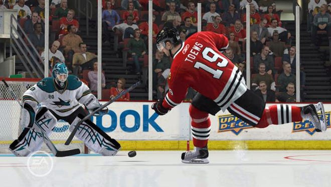 A scene from 'NHL 13.'