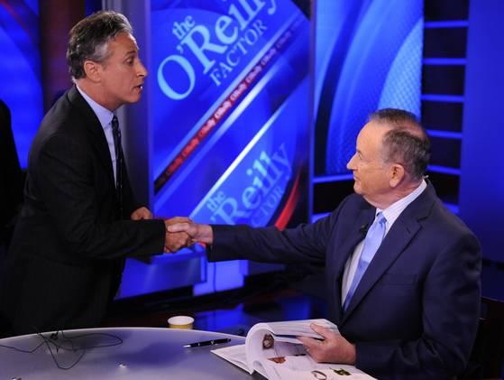Jon Stewart to tangle in mock debate
