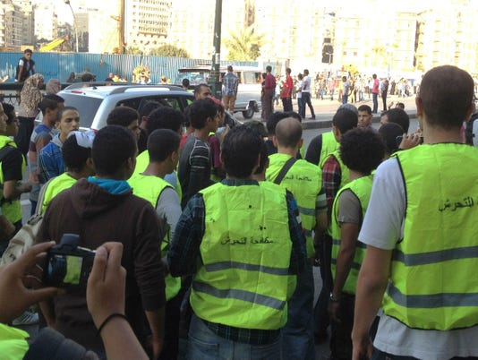 Egypt harassment activists