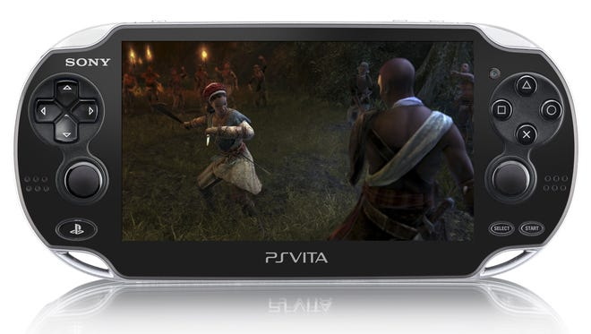 """A scene from """"Assassin's Creed III: Liberation,"""" viewed on the Sony PlayStation Vita."""
