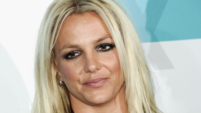"""""""X Factor"""" judge Britney Spears attends the FOX network upfront presentation party at Wollman Rink, in May."""