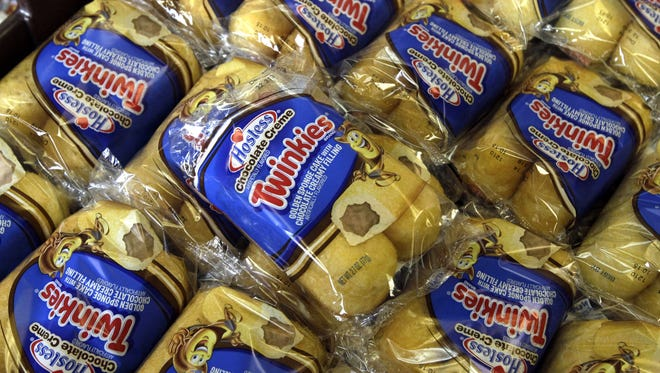 Announcements that Hostess Brands will be going out of business prompted a buyers' run on the bakery. (AP Photo/Brennan Linsley)