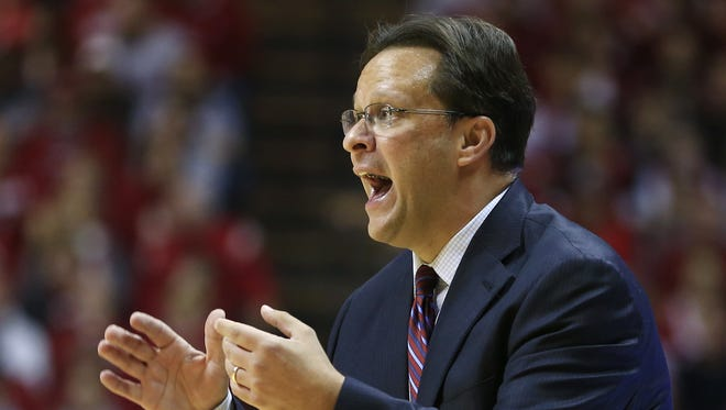 Indiana head coach Tom Crean led his team to a 101-53 win over Ball State, the largest margin of victory in the teams head-to-head series.