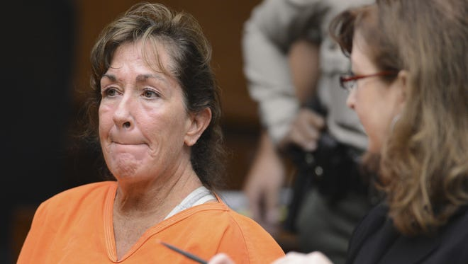 Sherri Wilkins, a substance abuse counselor, appears in Los Angeles Superior Court in Torrance, Calif., Nov. 27, 2012.