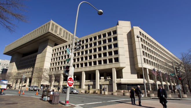 The FBI headquarters in Washington is six blocks from the White House.