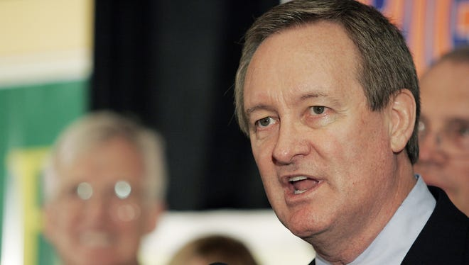 Sen. Mike Crapo, R-Idaho, was charged with driving under the influence Sunday.