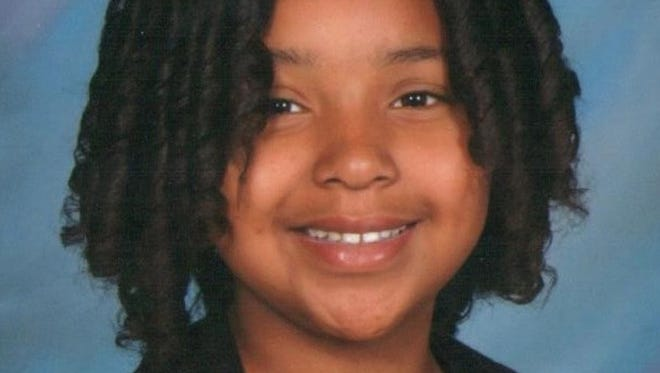 This undated photo provided by the Las Vegas Police Department shows Jade Moris, 10, who police are searching for after she failed to return home Dec. 21.