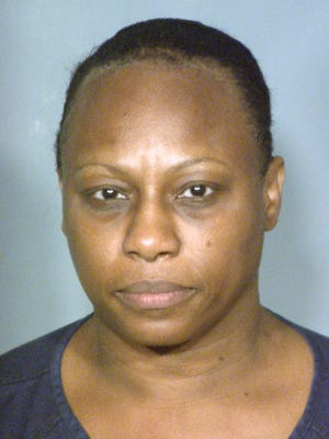 This booking photo provided by the Clark County Detention Center shows 50-year-old Brenda Stokes, who also uses the name Brenda Wilson and Brenda Stokes Wilson.