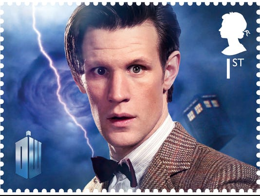 royal mail dr. who postage stamp