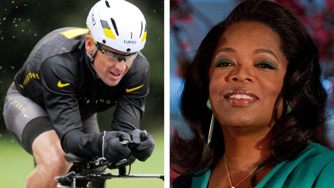 Lance Armstrong is scheduled to sit down for an interview with Oprah Winfrey on Monday in Austin, Texas.