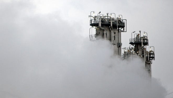 In this Saturday, Jan. 15, 2011, file photo, a part of Arak heavy water nuclear facilities is seen, near the central city of Arak, 150 miles southwest of the capital Tehran, Iran.