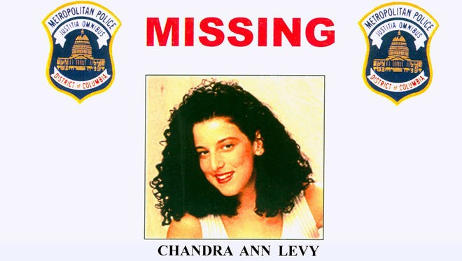 This 2001 file photo provided by the Washington Police Department shows the missing poster of Chandra Ann Levy, of Modesto, Calif.