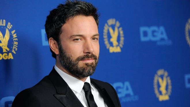 Ben Affleck, director and lead actor of 'Argo,'  arrives at the 65th Annual Directors Guild of America Awards at the Ray Dolby Ballroom on Saturday.