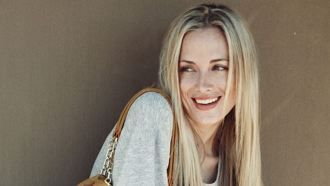 This is an undated portfolio photo supplied by Ice Model Management in Johannesburg of Reeva Steenkamp,  during a photo shoot.