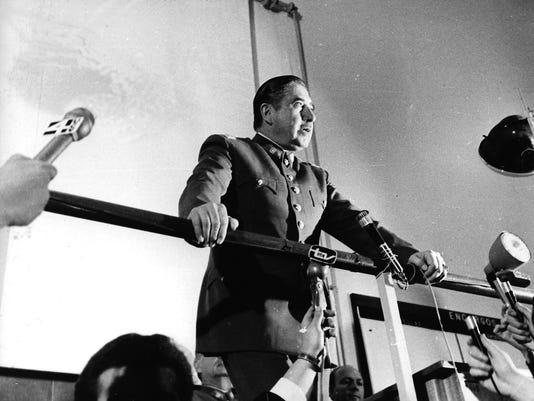 Chilean dictator Gen. Augusto Pinochet