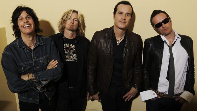The Stone Temple Pilots, from left, Dean Deleo, Eric Kretz, Robert Deleo and Scott Weiland.