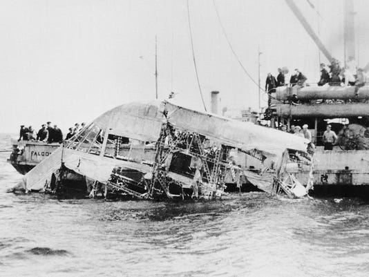 Forgotten airship disaster recalled 80 years later