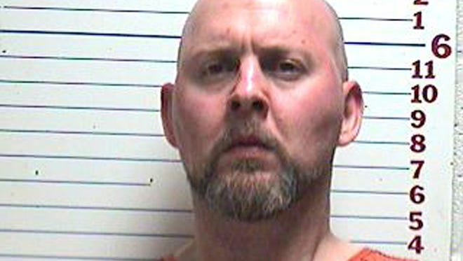 In this photo provided by the Comanche County Detention Center, David Lee Kemp is pictured in a booking photo dated April 26, 2013.