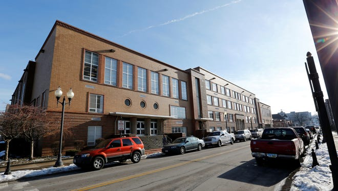 This photo from Jan. 9  shows the Steubenville High School in Steubenville, Ohio.