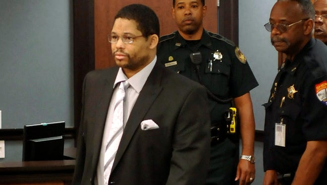 Bartholomew Granger in court in Galveston, Texas, April 22, 2013. He was convicted April 30 of capital murder.