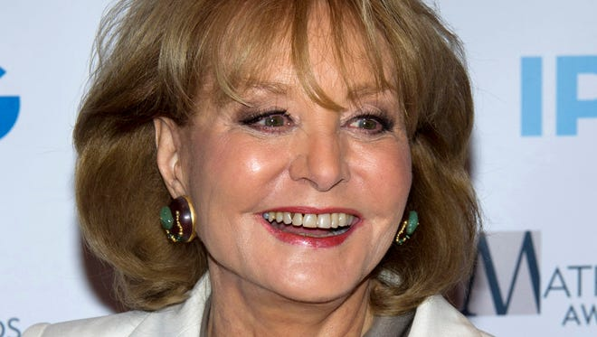 Barbara Walters, longtime news anchor and journalist, will announce her retirement Monday on her ABC talk show 'The View.'