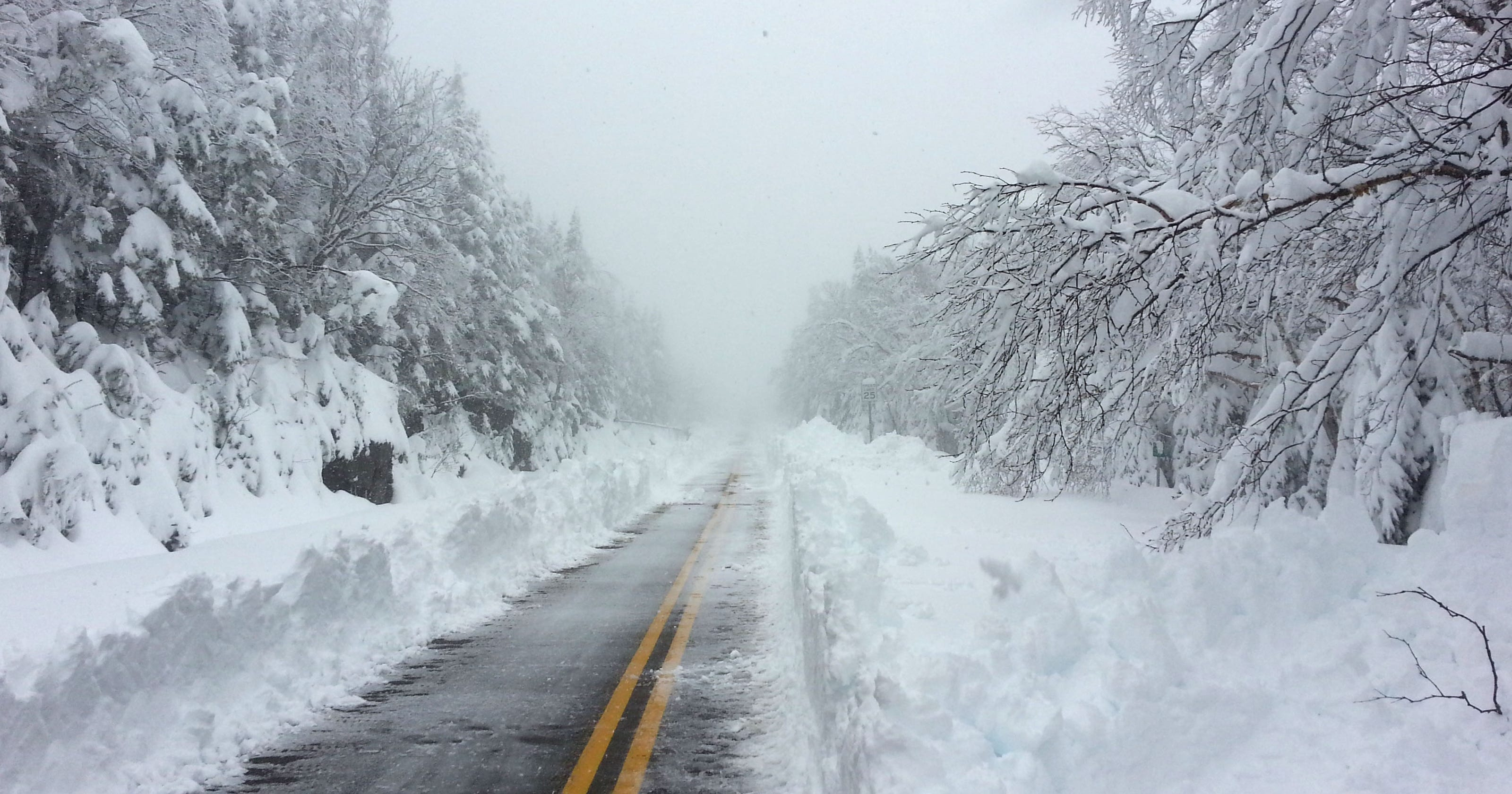 Memorial Day mess: 3 feet of snow falls in Upstate N Y