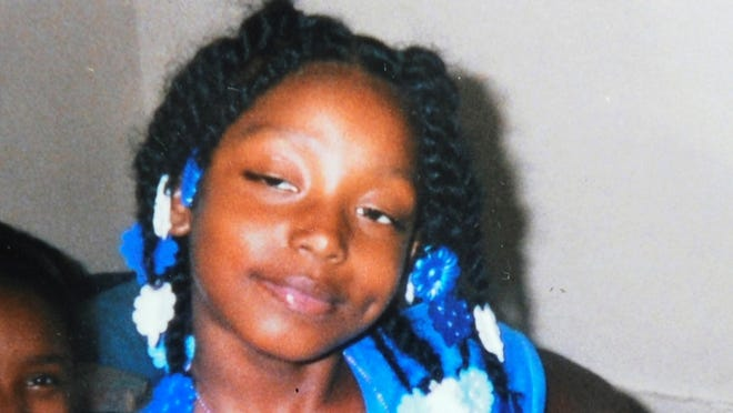 This undated family photo shows Aiyana Stanley-Jones, 7, who was shot and killed May 16, 2010, by a shot from a Detroit police officer during a raid to arrest a murder suspect.