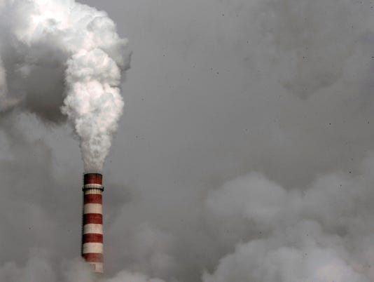 Pollution climbs to record levels