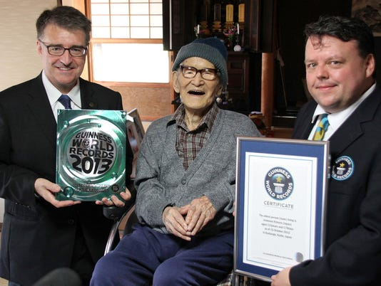 World's oldest person dies in Japan at 116