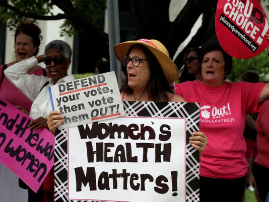 Abortion bill clears N.C. Senate as protesters watch